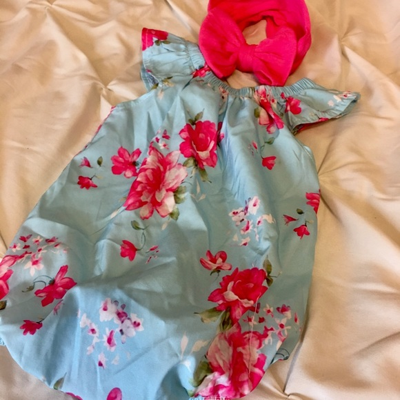 62c809f5a Nordstrom One Pieces | Bundle Of Baby Bubble Romper Bow | Poshmark